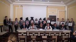 Conferință în contextul vizitei președintelui Turciei, Recep Tayyip Erdogan în Moldova, și susținută de Amnesty International Moldova, în comun cu RCTV Memoria, Centrul de Resurse Juridice, Centrul de Drept al Avocaților, Promo-LEX, rudele și susținătorii profesorilor turci de la liceul Orizont