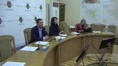 Premierea învingătorilor concursului municipal de fotografie organizat cu prilejul celei de-a 582-a aniversări a orașului Chișinău