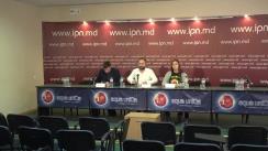 """Conferință de presă organizată de Alianța pentru Centenar cu tema """"Ultimele detalii despre Marșul Automobilistic Unionist"""""""