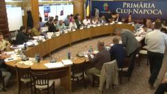 Ședința extraordinară a Consiliului local Cluj-Napoca din 19 octombrie 2018