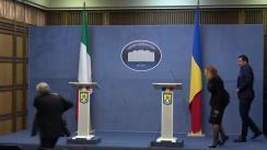 Declarație de presă susținută de Ministrul Afacerilor Interne al României, Carmen Dan, cu vicepreședintele Consiliului de Miniștri și ministrul de Interne al Republicii Italiene, Matteo Salvini