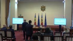 Conferința de presă susținută de prim-ministrul Republicii Moldova, Pavel Filip, și ministrul Finanțelor, Octavian Armașu, privind noua lege a salarizării în sectorul bugetar