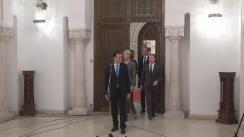Declarații de presă susținute de reprezentanții PNL, după consultările cu Președintele României, Klaus Iohannis, pe tema legislației din domeniul justiției