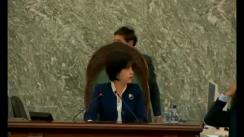 Ședința în plen a Senatului României din 31 octombrie 2018