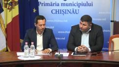 Declarații după ședința săptămânală a serviciilor primariei Chișinău din 29 octombrie 2018