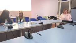 """Club de presă organizat de Centrul de Investigații Jurnalistice la tema """"Ce șanse au femeile din Republica Moldova să ajungă în eșaloanele de sus ale puterii?"""""""