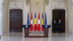 Declarație de presă comună susținută de Președintele României, Klaus Iohannis, și Președintele Confederației Elvețiene, Alain Berset