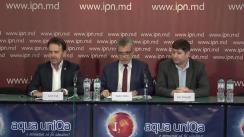 """Conferință de presă organizată de Partidul Liberal Democrat din Moldova cu tema """"Parlamentul refuza discuțiile asupra proiectelor PLDM de îmbunătățire a legislației electorale"""""""