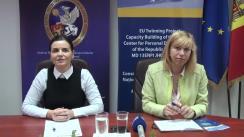 Briefing de presă organizat de Centrul Național pentru Protecția Datelor cu Caracter Personal și Proiectul Twinning privind lansarea unor activități publice despre protecția datelor cu caracter personal