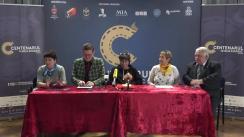 Conferință de presă organizată cu ocazia finalul proiectului Centenarul Filmului Românesc pentru Republica Moldova