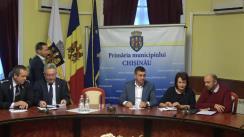 Ședința săptămânală a serviciilor primăriei Chișinău din 5 noiembrie 2018