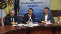 Declarații după ședința săptămânală a serviciilor primariei Chișinău din 5 noiembrie 2018
