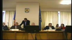 Ședința comisiei pentru administrație publică și amenajarea teritoriului a Camerei Deputaților României din 6 noiembrie 2018