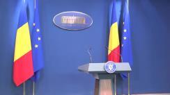 Declarație de presă susținută de Ministrul Fondurilor Europene al României, Rovana Plumb, privind clarificări tehnice în domeniul fondurilor europene