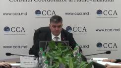 Ședința Consiliului Coordonator al Audiovizualului din 9 noiembrie 2018