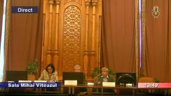 Ședința comisiei specială comună a Camerei Deputaților și Senatului pentru sistematizarea, unificarea și asigurarea stabilității legislative în domeniul justiției din 7 noiembrie 2018