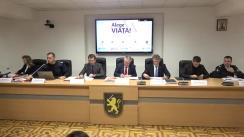 """Conferință de presă organizată de Inspectoratul General al Poliției cu tema """"Campanie antidrog #AlegeViața!"""""""