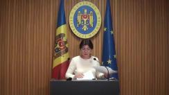 Declarațiile Silviei Radu după ședința Guvernului Republicii Moldova din 8 noiembrie 2018