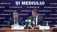 Conferință de presă organizată de Ministerul Agriculturii, Dezvoltării Regionale și Mediului despre rezultatele campaniei de recepționare a cererilor pentru subvenționarea proiectelor strat-up