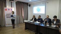 Decernarea distincției pentru promovarea egalității de gen în sectorul public, PNUD Moldova