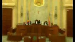 Ședința în plen a Senatului României din 12 noiembrie 2018