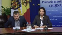 Declarațiile lui Ion Cebanu și Veronicăi Herța după ședința săptămânală a serviciilor primăriei Chișinău din 12 noiembrie 2018