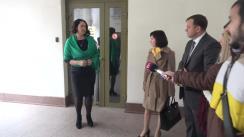"""Declarațiile Maiei Sandu și Andrei Năstase înainte de ședința comisiei de anchetă pentru elucidarea circumstanțelor de fapt și de drept ale acuzațiilor de imixtiune din partea Fundației """"Otwarty Dialog"""" (Dialog Deschis)"""