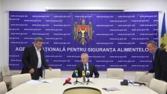 """Briefing de presă organizat de Agenția Națională pentru Siguranța Alimentelor cu genericul """"Cultivatorii de semințe din Republica Moldova au acces liber pe piața Uniunii Europene"""""""