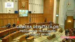 Ședința comună a Camerei Deputaților și Senatului României din 14 noiembrie 2018