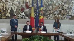 Semnarea Protocolului celei de a XI-a Sesiune a Comisiei interguvernamentale moldo-române de colaborare economică