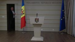 Declarațiile lui Vasile Bolea și Vladimir Odnostalco în timpul ședinței Parlamentului Republicii Moldova din 15 noiembrie 2018