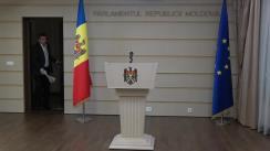 Declarațiile lui Lilian Carp în timpul ședinței Parlamentului Republicii Moldova din 15 noiembrie 2018