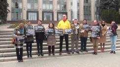 Eveniment organizat de Amnesty International Moldova pentru a cere respectarea drepturilor economice, sociale și culturale în Republica Moldova