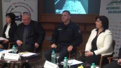 Masa rotundă organizată de Inspectoratul General al Poliției privind siguranța rutieră, managementul siguranței rutiere în Republica Moldova, traumatismele și decesele rutiere infantile