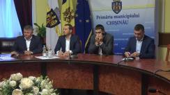 Declarații după ședința săptămânală a serviciilor primariei Chișinău din 19 noiembrie 2018