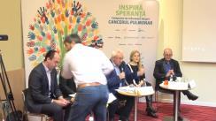 """Conferința """"Cancerul pulmonar"""", organizată de Federația Asociațiilor Bolnavilor de Cancer din România"""