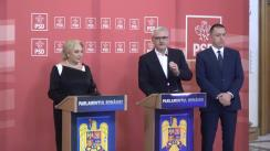 Conferință de presă după ședința Comitetului Executiv Național al PSD din 19 noiembrie 2018