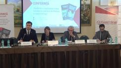 """Conferința cu genericul """"Posibilități și impedimente în fața schimbărilor sistemice din Moldova, Ucraina și Georgia"""", organizată de Centrul Analitic Independent Expert-Grup în parteneriat cu Centrul de Studii Politice Europene"""