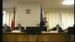 Ședința comisiei pentru administrație publică și amenajarea teritoriului a Camerei Deputaților României din 20 noiembrie 2018