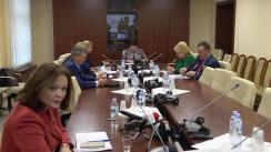 Audieri organizate de Comisia protecție socială, sănătate și familie privind executarea recomandărilor din Raportul asupra audierilor privind situația epidemiologică privind îmbolnăvirile prin rujeolă din 18.09.2018