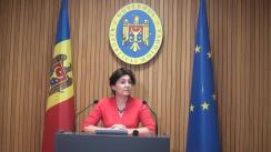 Declarațiie Silviei Radu după ședința Guvernului Republicii Moldova din 21 noiembrie 2018