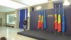 Întâmpinarea prim-ministrului Republicii Moldova, Pavel Filip, de către prim-ministrul României, Viorica Dăncilă