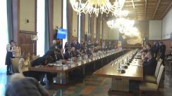 Ședință în plenul delegațiilor a Republicii Moldova și România