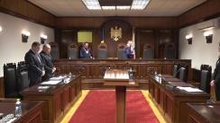 Curtea Constituțională a Republicii Moldova analizează modul de sancționare a persoanelor care au atins vârsta de pensionare și care sunt acuzate de comiterea unor acte de violență în familie