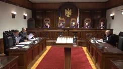 Curtea Constituțională a Republicii Moldova examinează dacă organul de urmărire penală își poate menține competența desemnării unui reprezentant al unei persoane juridice în cadrul procedurilor penale