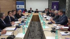 """Masa rotundă organizată de IPRE în cadrul proiectului """"Dialoguri Europene"""" cu tema """"Posibile scenarii pentru alegerile parlamentare în cadrul sistemului electoral mixt"""""""