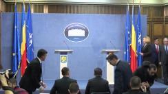 Declarație de presă susținută de Ministrul Afacerilor Interne al României, Carmen Daniela Dan, și Comisarul european pentru migrație, afaceri interne și cetățenie, Dimitris Avramopoulos