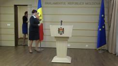 Declarațiile Valentinei Buliga în timpul ședinței Parlamentului Republicii Moldova din 22 noiembrie 2018