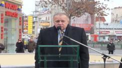Primarul general al Capitalei, Sorin Oprescu, participă la deschiderea Pasajului pietonal Latin (Sf. Gheorghe-Lipscani)