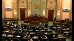 Ședința în plen a Senatului României din 26 noiembrie 2018